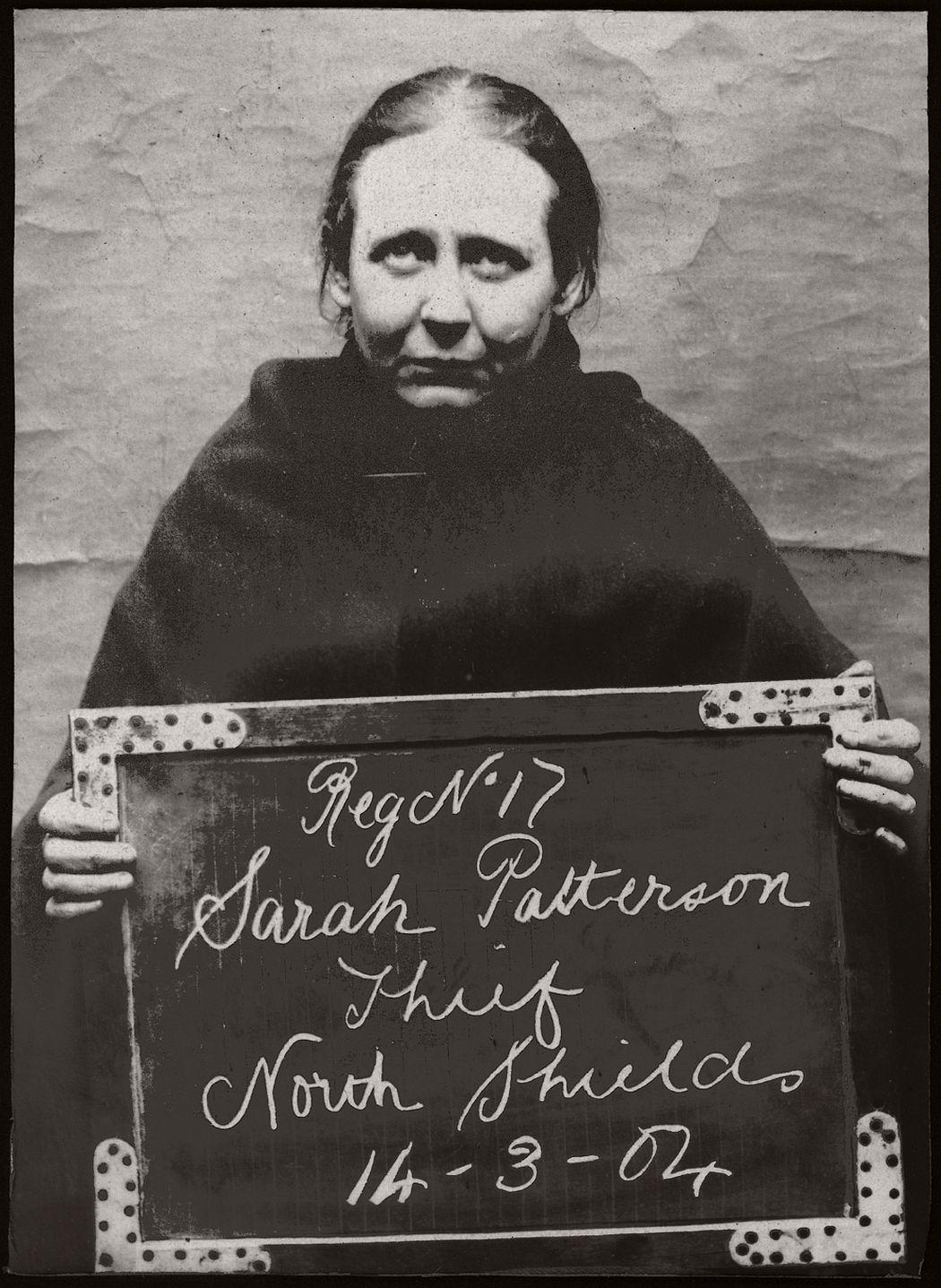 Vintage Mug Shot Of Women Criminals From North Shields