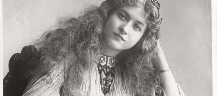 Vintage Retro Postcards of actress Miss Maude Fealy (1900s)