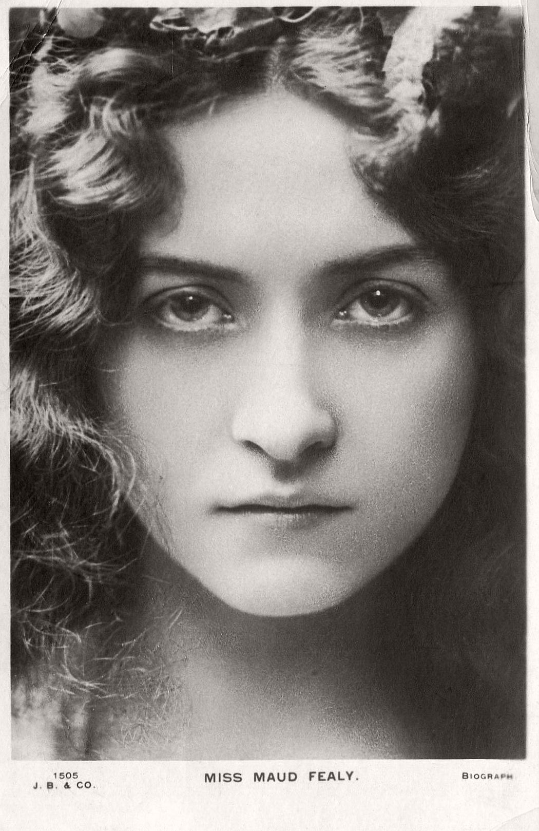 Vintage Retro Postcards of actress Miss Maude Fealy (1900s