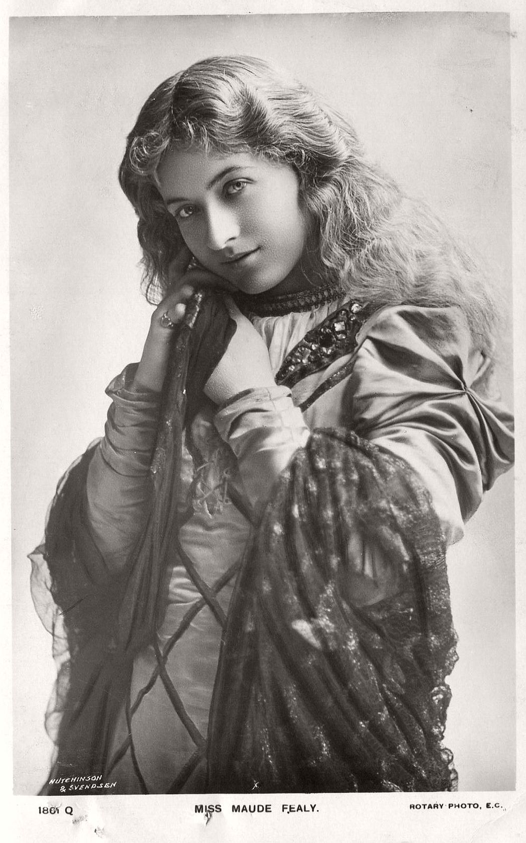 Vintage Retro Postcards Of Actress Miss Maude Fealy 1900s