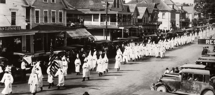 Vintage: photos of Ku Klux Klan Parade in 1920s