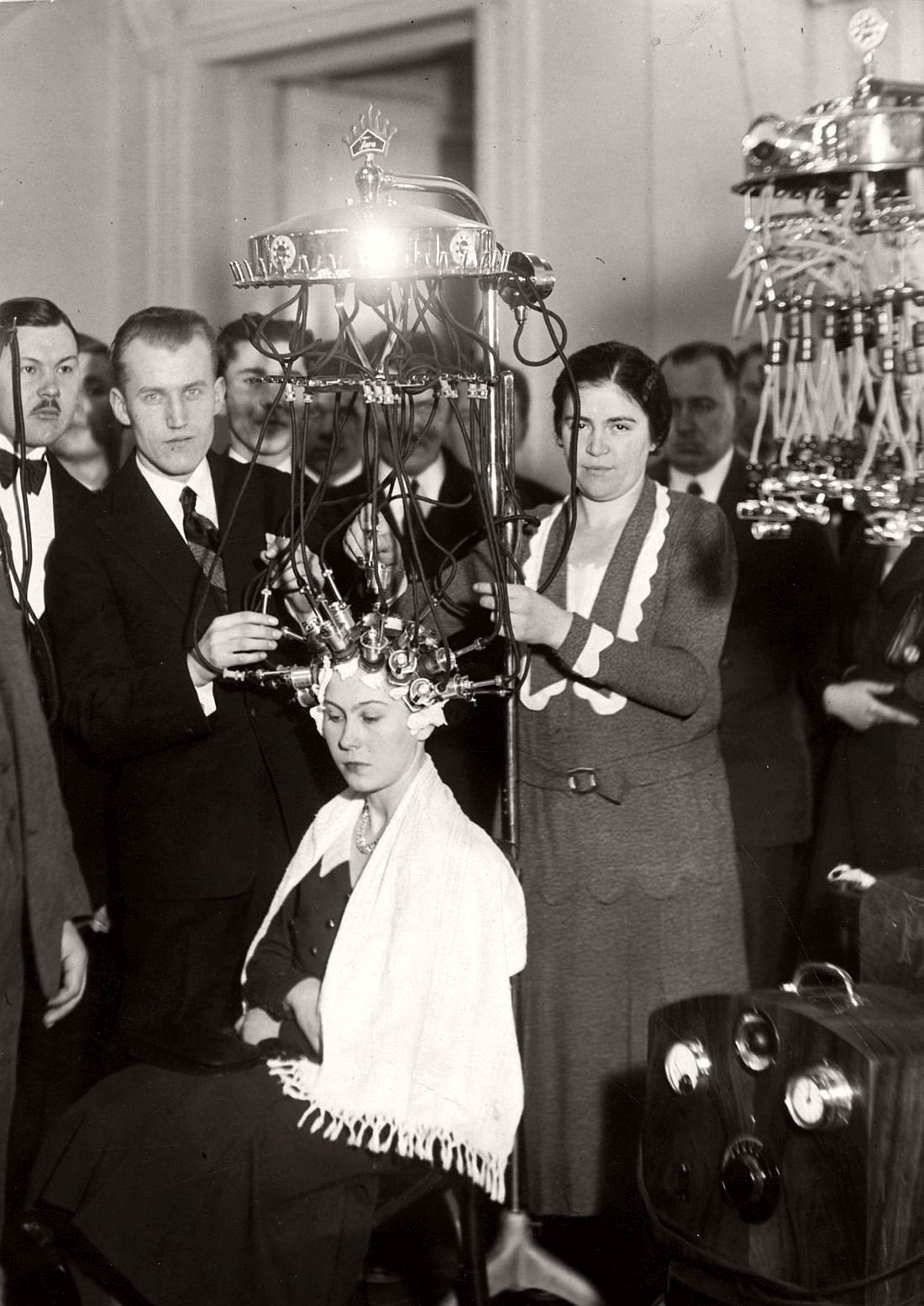 Hairdressing Competition in Warsaw, 1932