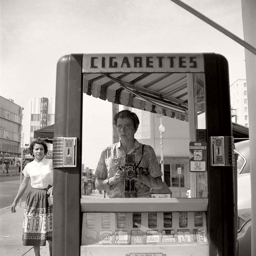 Vivian Maier - Self Portrait