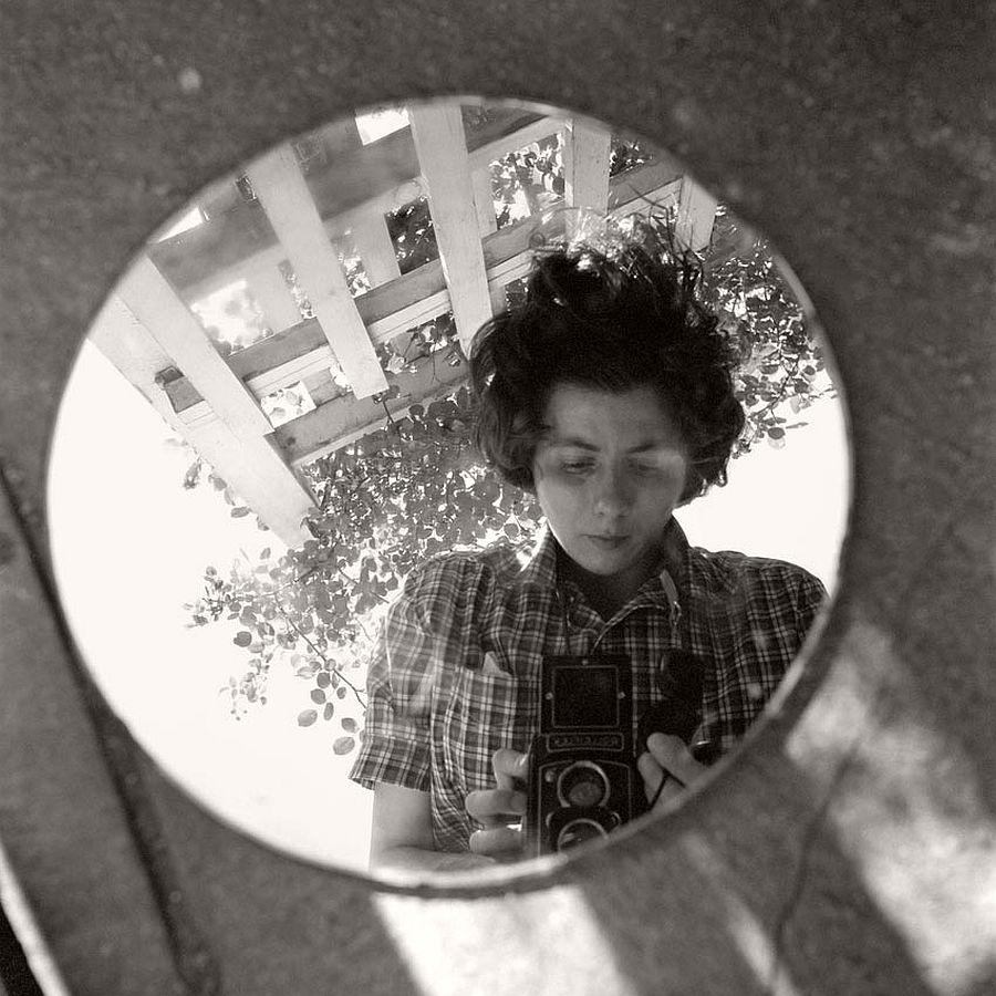 Vivian Maier - Self Portrait, June, 1953