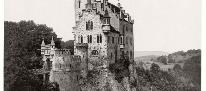 Vintage: B&W photos of German Castles