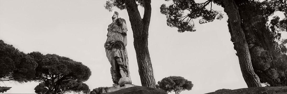 ITALY. Lazio. Ostia Antica. 2000. The goddess Roma.