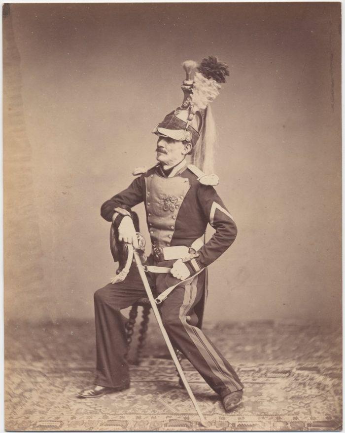Monsieur Mauban 8th Dragoon Regiment 1815