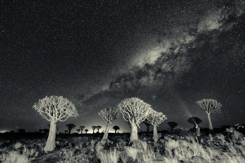 Namibia Under the Stars © Yi Sun – Honorable Mention in Landscape, Amateur