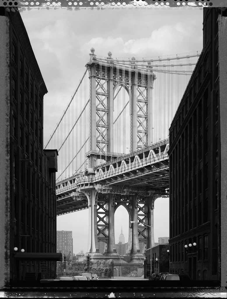 Manhattan Bridge, Brooklyn, New York