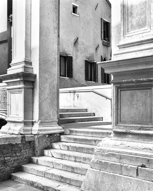 Stones and Stairs in Venice © Gian Giacomo Stiffoni – Honorable Mention in Architecture, Professional