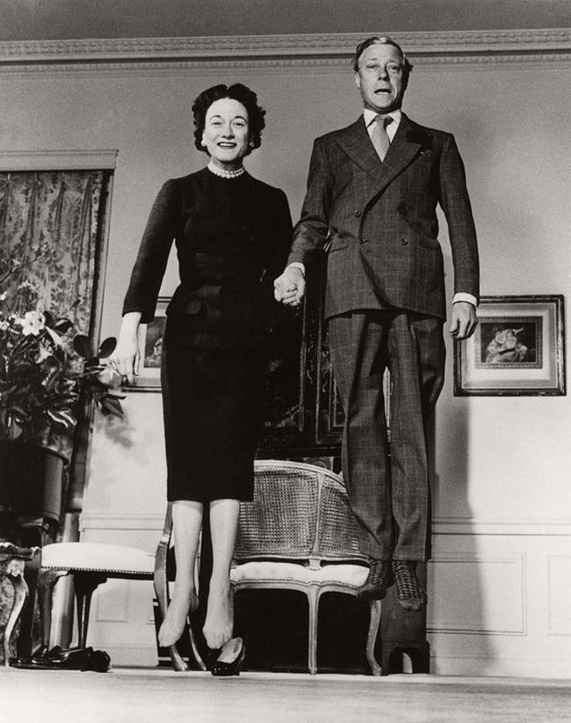 1958. The Duke and Duchess of Windsor.