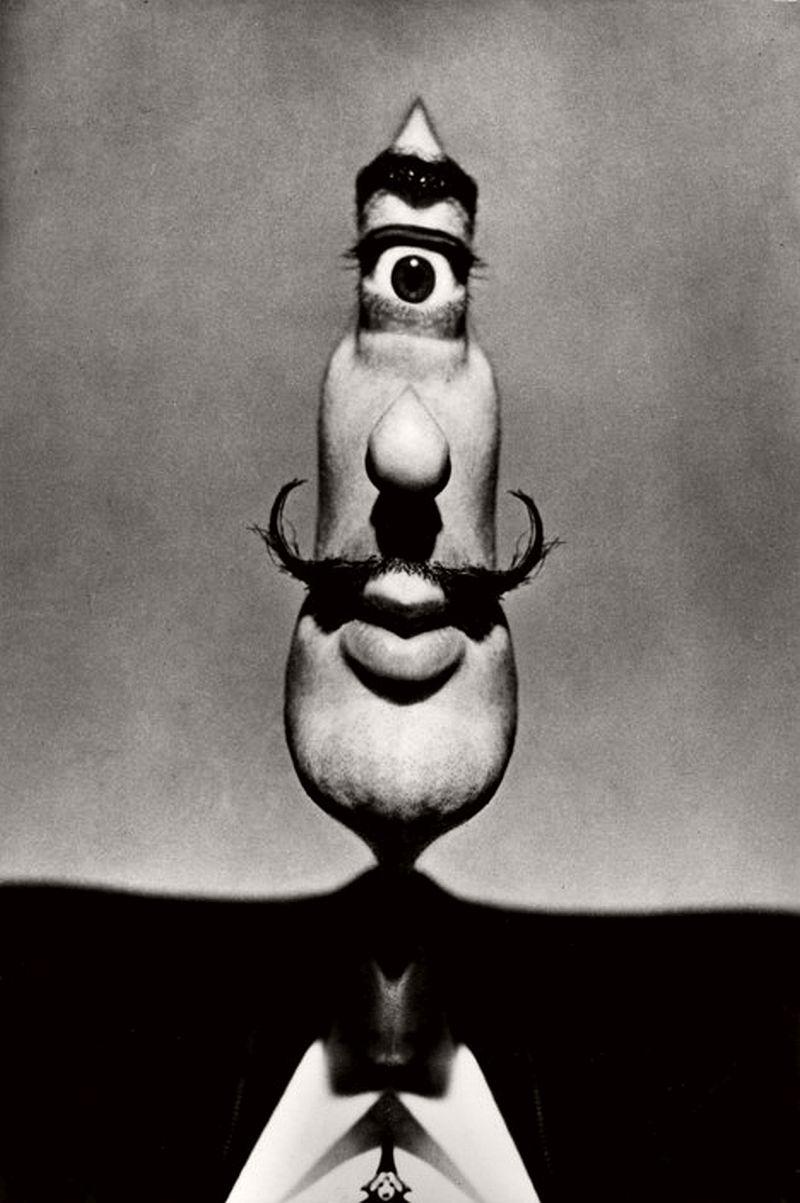 Spanish Surrealist Painter Salvador DALI. 1954.