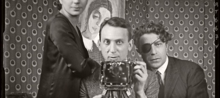 10 B&W photos of Famous Photographer's Self-portraits