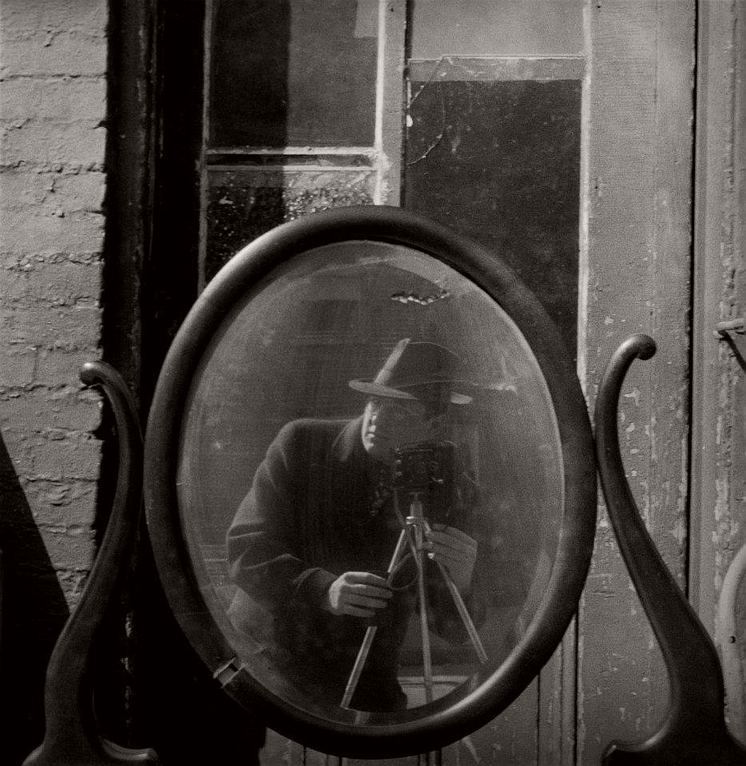 Arnold Newman, Self Portrait, Baltimore, MD, 1939
