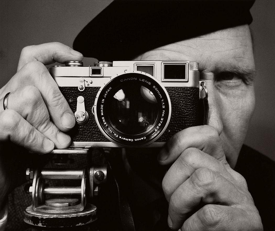 Franz Hubmann, Self-portrait, 1960