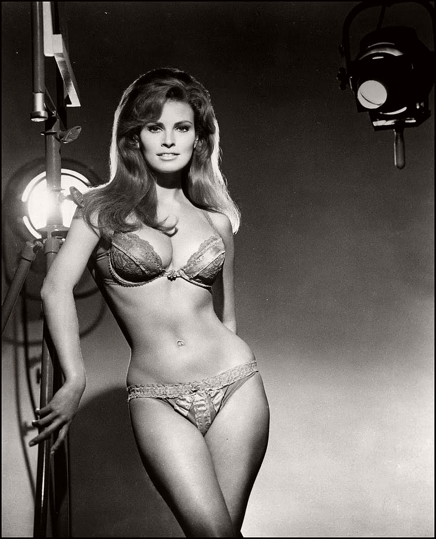Raquel Welch-hollywood-actresses-top-20-hottest-1960s-in-bw