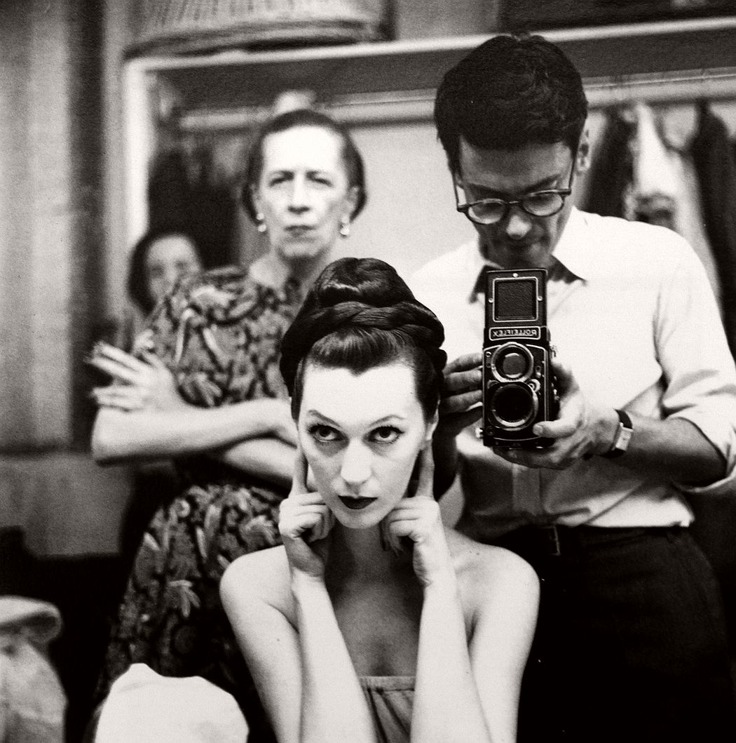 Richard Avedon-Self Portrait with Diana Vreeland and Dovima