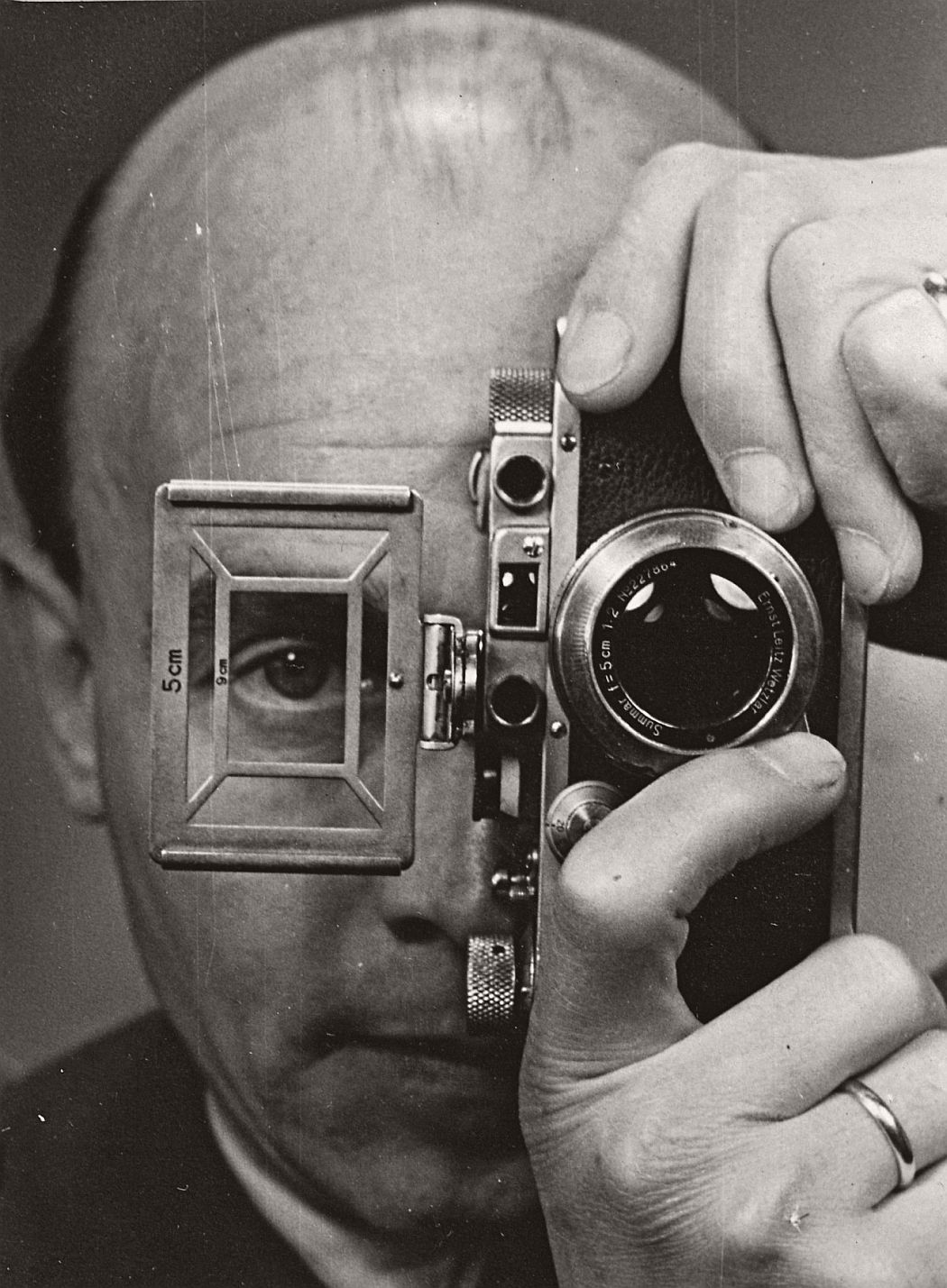 Umbo (Otto Umbehr), Self Portrait