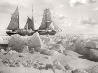 Vintage: Sir Ernest Shackleton's 1915 expedition to the Antarctic