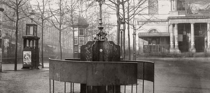 Vintage: Public Urinals in Paris by Charles Marville (19th Century)