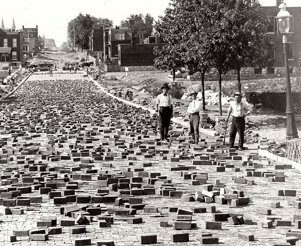 Vintage Block City Building Blocks