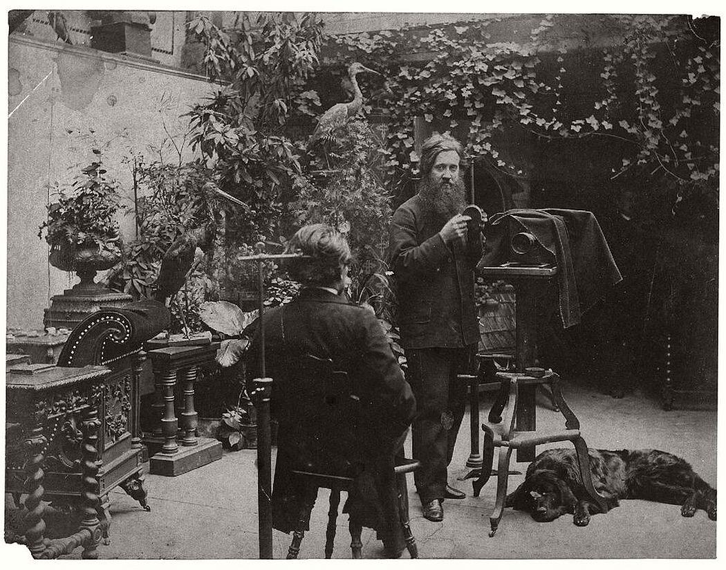 Atelier Brandl, ca. 1870