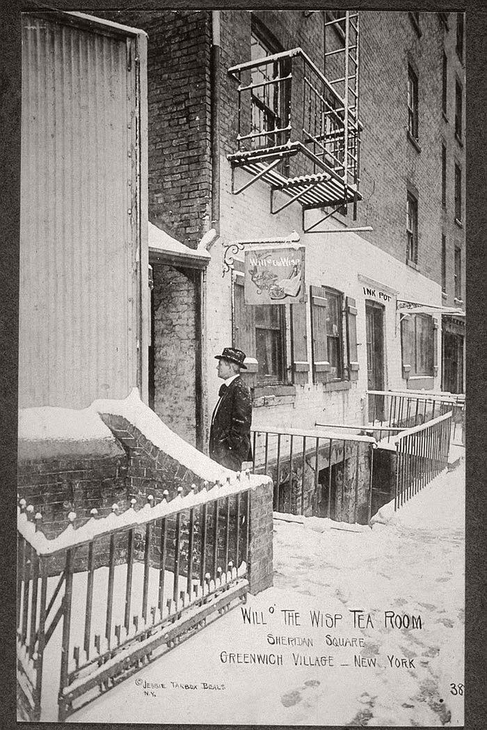Vintage New York S Bohemian Greenwich Village 1910s