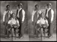 Vintage: Texan Portraits by Julius Born (Early 20th Century)