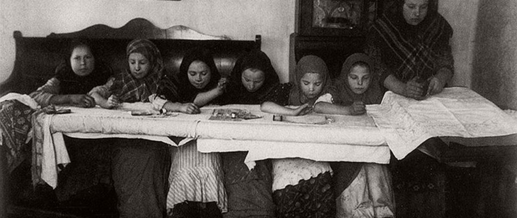 Vintage: Russian Peasants and Their Craft Jobs (early 20th century)
