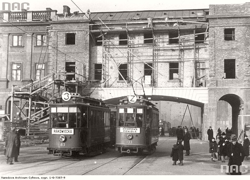 construction-of-connection-between-zoliborz-with-the-center-of-warsaw-1930s