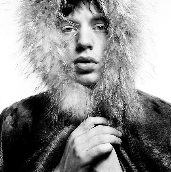 david-bailey-mick-jagger-fur-hood-1964-printed-2001-david-bailey
