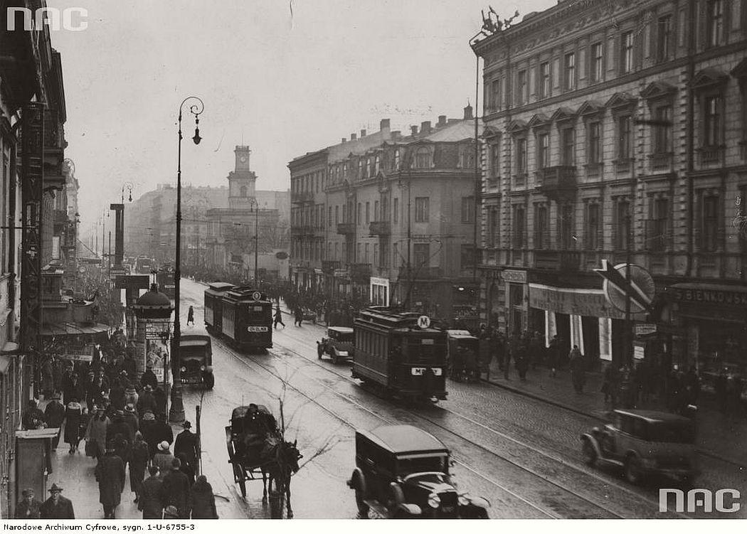 marszalkowska-street-in-warsaw-1926-1934