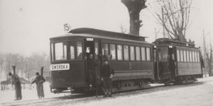 Vintage: Trams in Poland (1930s)