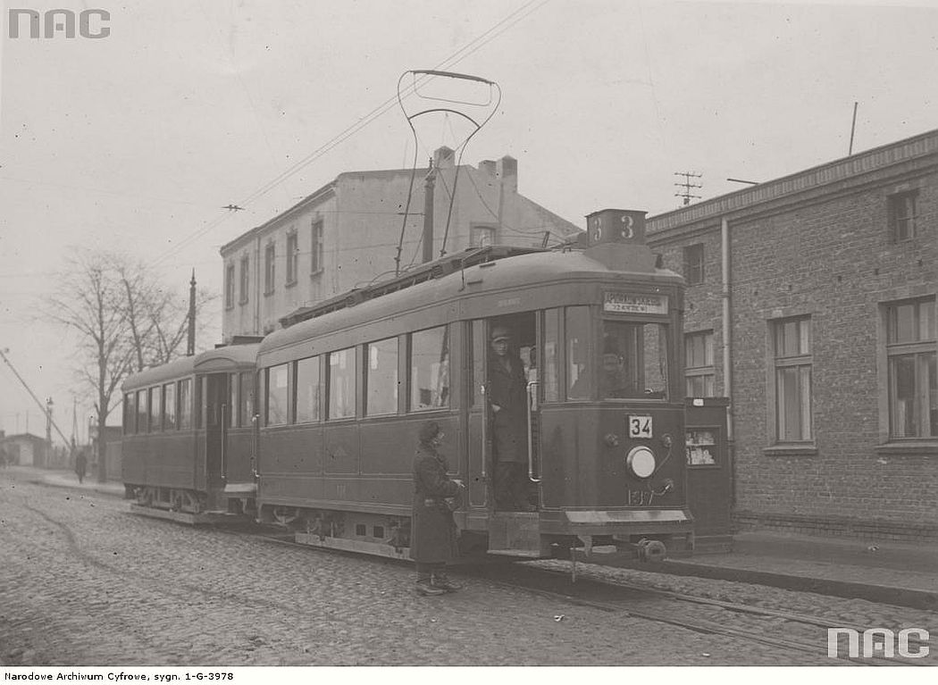 tram-lilpop-ii-at-the-end-of-koziny-in-lodz-1935