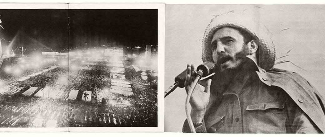 Mario García Joya: A la plaza con Fidel