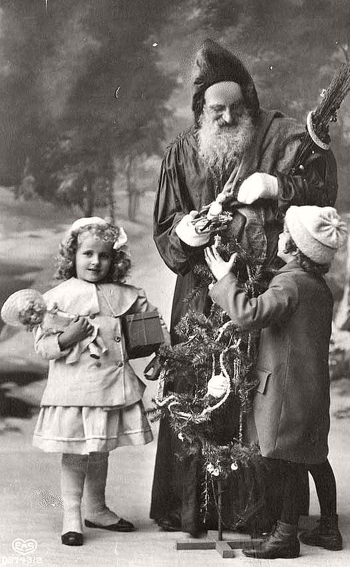 Vintage: Father Christmas in the Victorian Era (19th ...