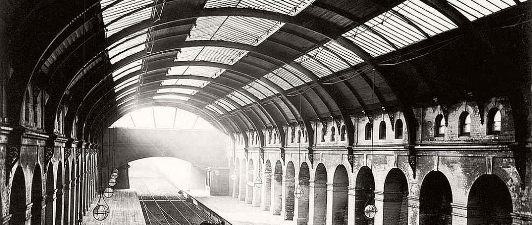 Vintage: London Underground Construction (Victorian Era)