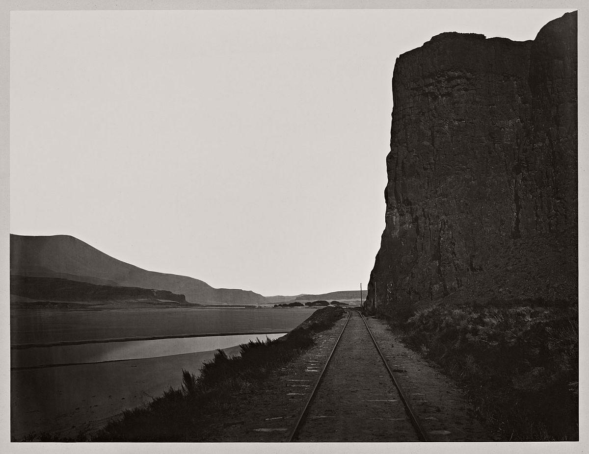 Carleton Watkins (U.S.A., 1829-1916) Cape Horn, near Celilo 1867