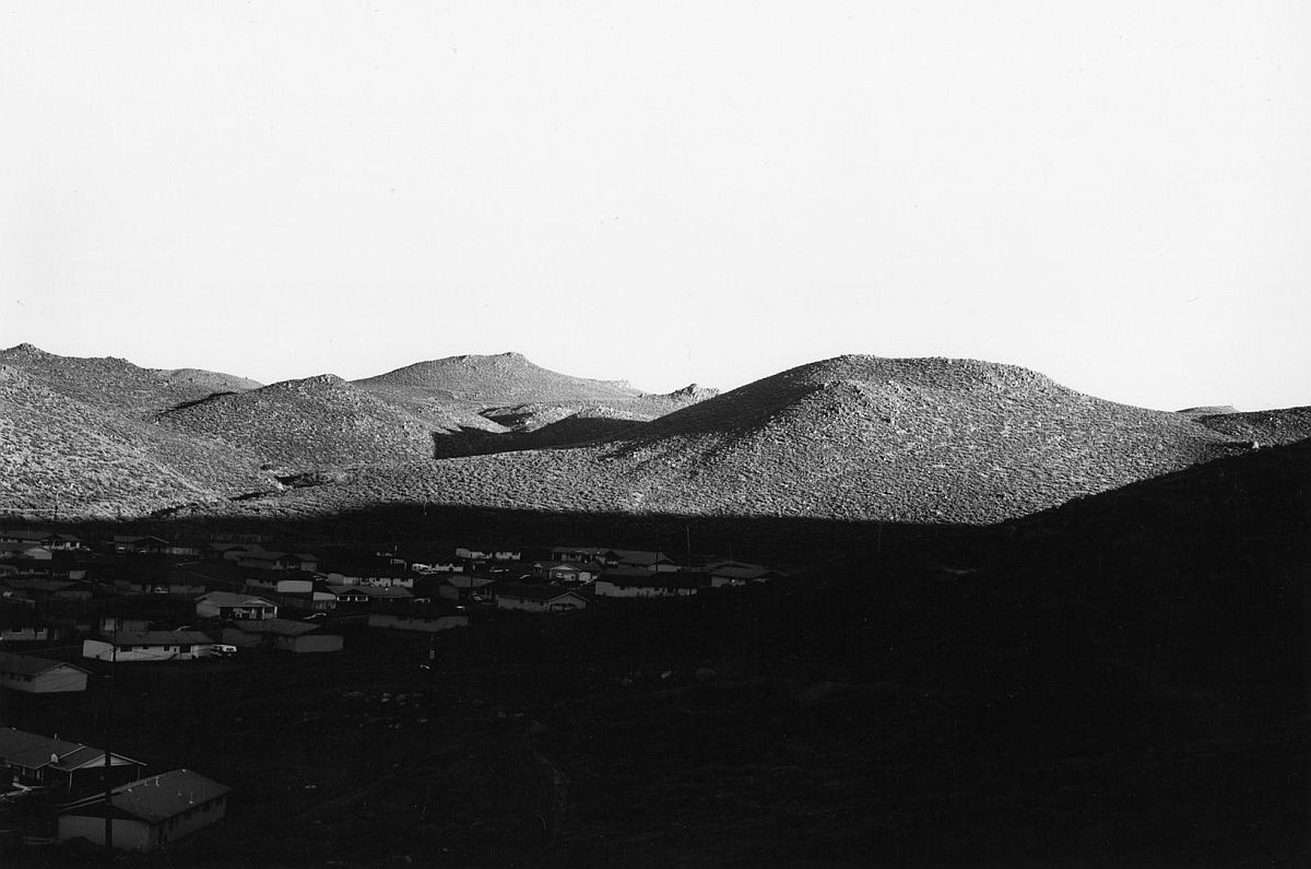 Lemmon Valley, Looking Northeast 1977