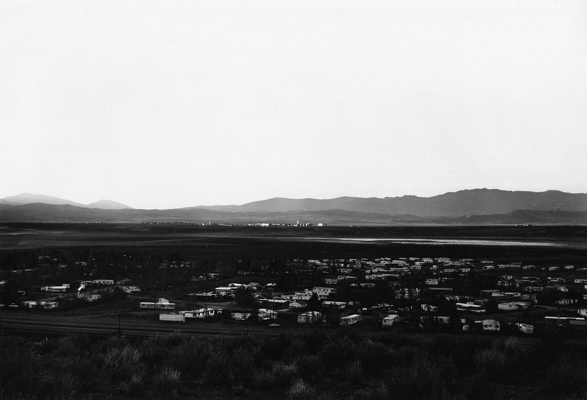 Lemmon Valley, Looking Northwest, Toward Stead 1977