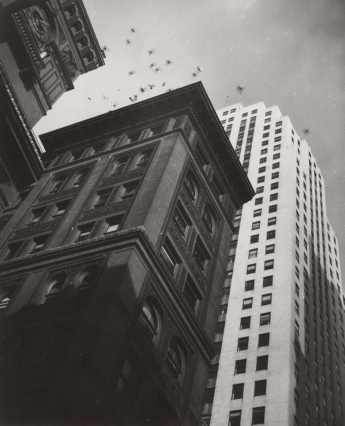 Robert Haas: New York City, 1940s © Wien Museum/Sammlung Robert Haas