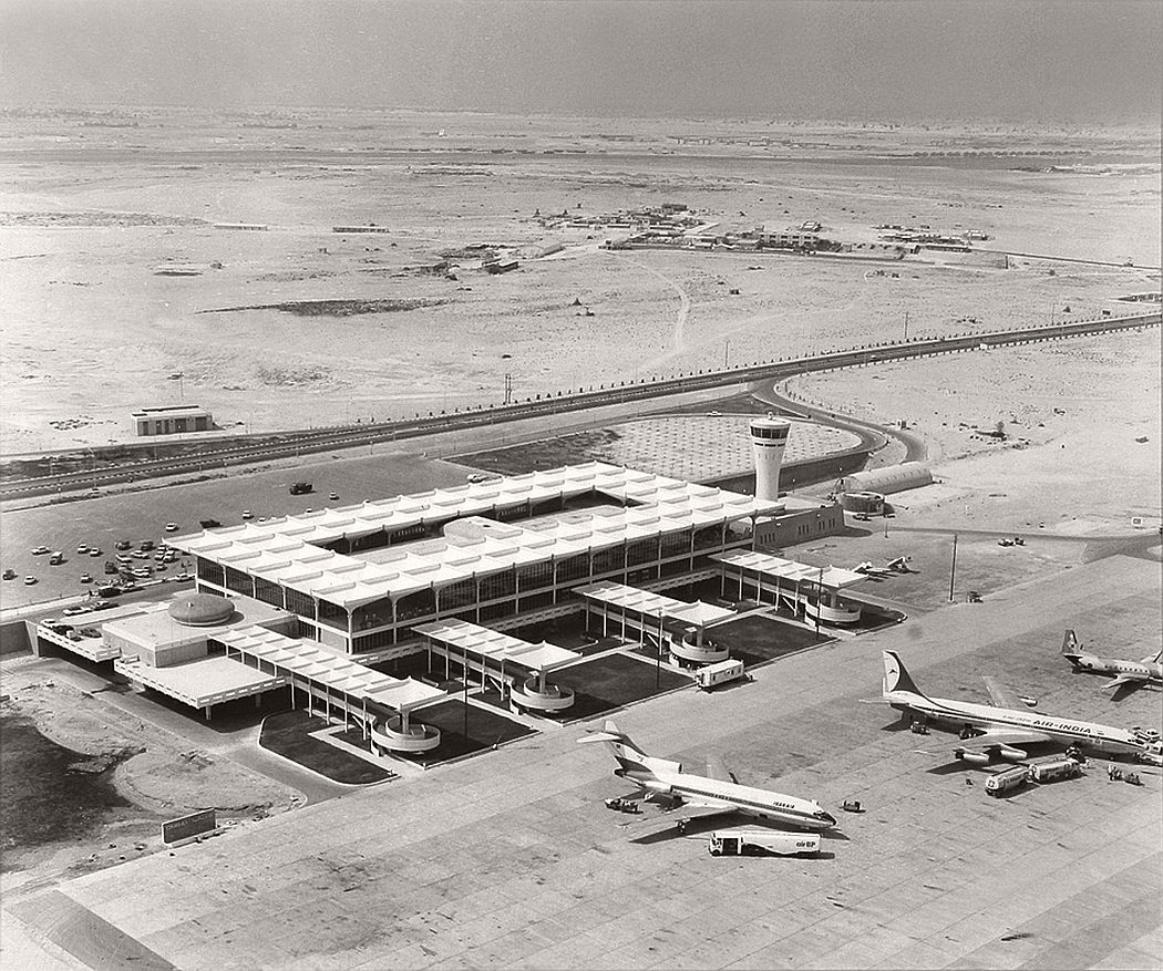 Dubai Airport in 1965