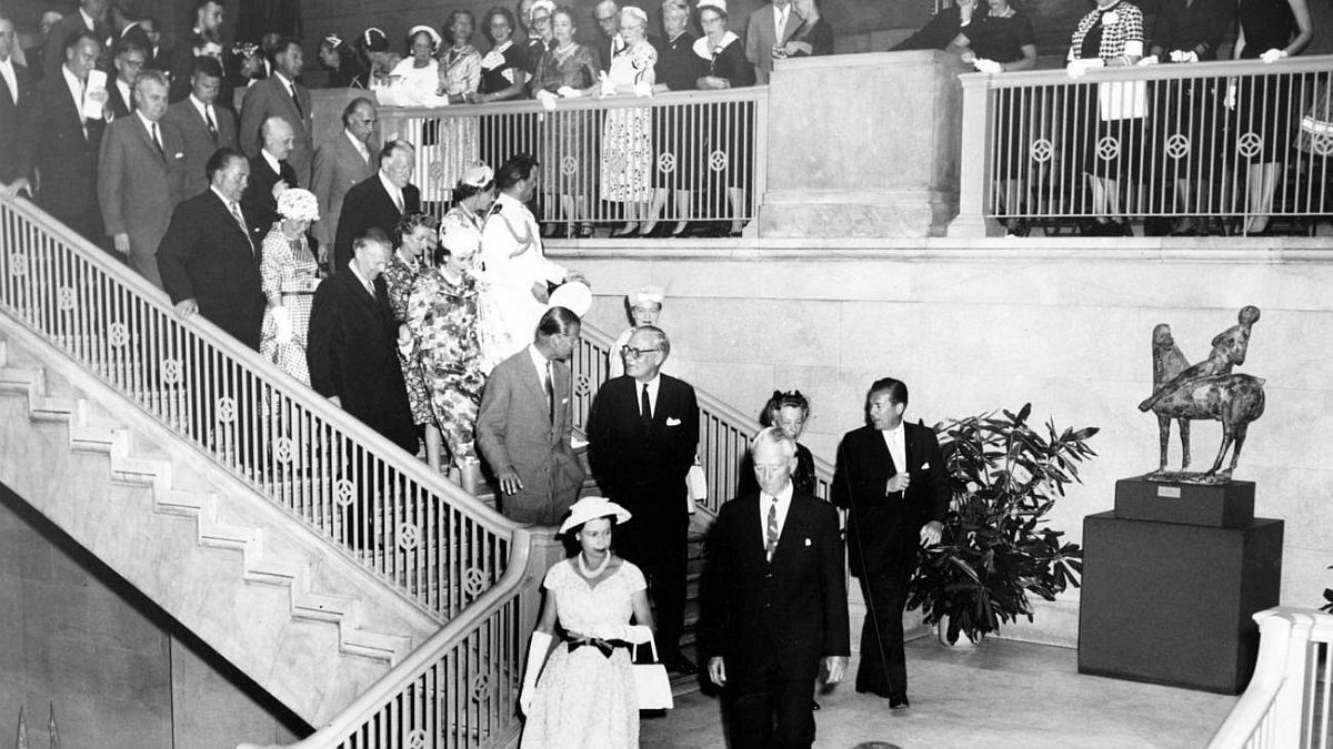 Chicago Tribune historical photo Queen Elizabeth II and Prince Philip visit Chicago on July 6, 1959.