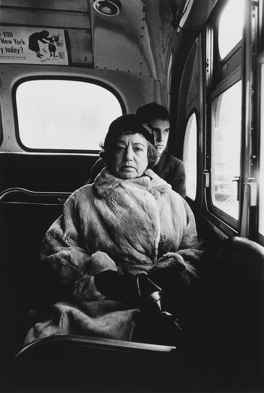 Diane Arbus Woman with white gloves and a pocket book, N.Y.C. , 1956