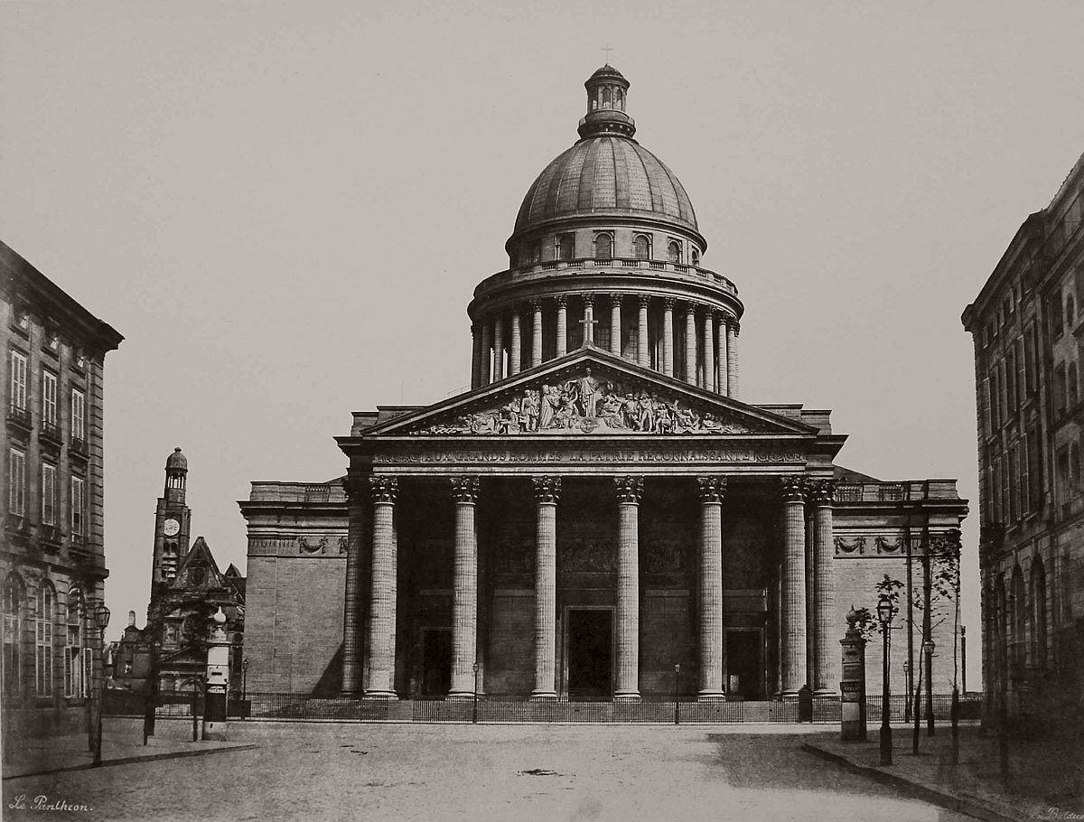Edouard Baldus Le Pantheon 1853