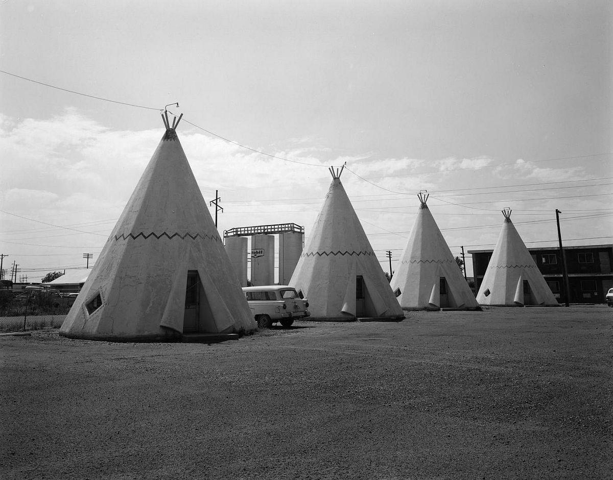 © John Schott, Untitled, from Route 66 Motels, 1973