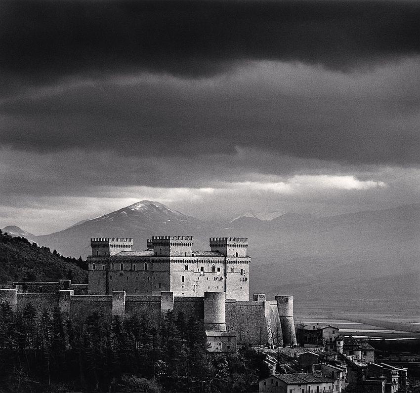 Piccolomini Castle, Celano, Abruzzo, Italy, 2016