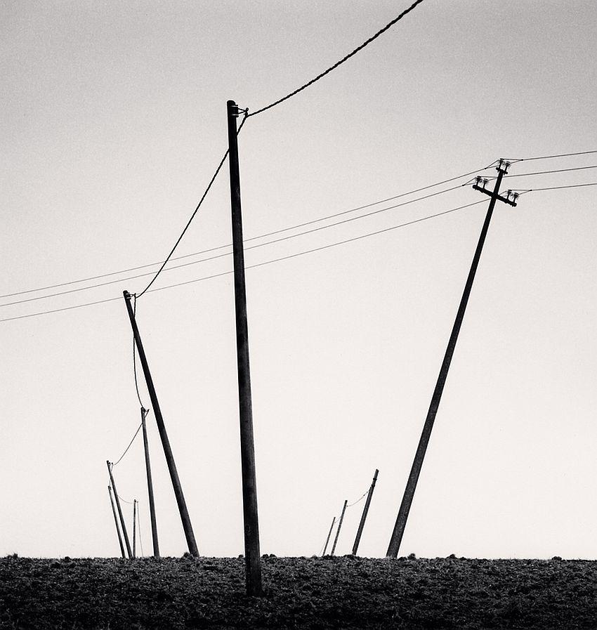 Ten Slanted Poles, Castilenti, Abruzzo, Italy, 2015