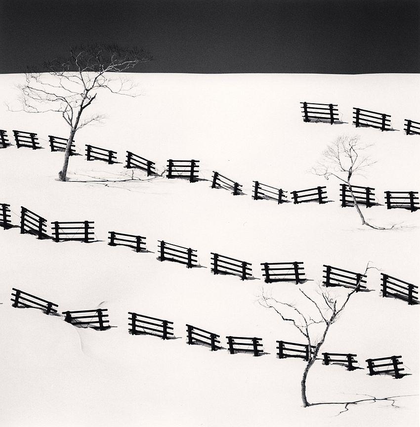 Thirty One Snow Fences, Bihoro, Hokkaido, Japan, 2016