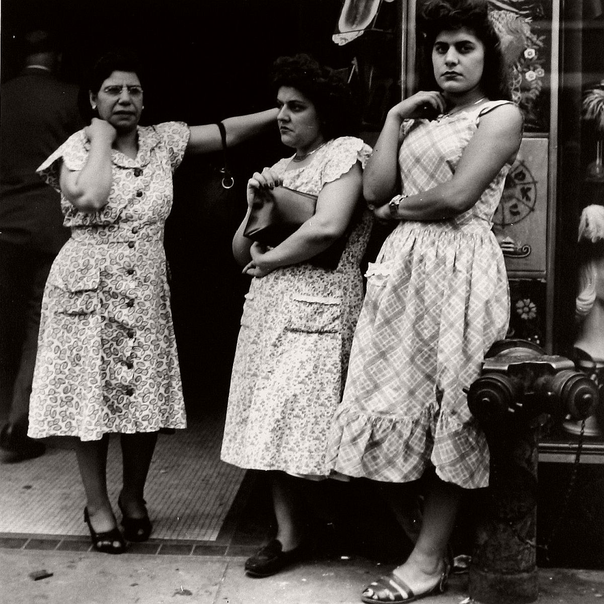 Three Ladies on 14th Street, 1948